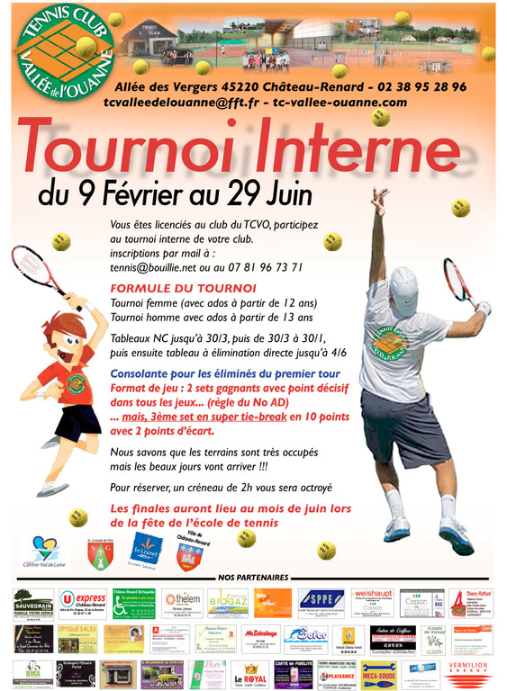 Tournoi Interne 2018